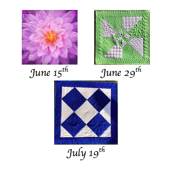 I will be teaching Fantasy Feathers on @hoffmanfabrics Dream Big panels, Free Motion Fun, and Rulers 101 at @thelongarmnetwork this summer! come join me for these beginner friendly classes. #dreambigquilt #quiltteacher #freemotionquilting #rulerworkquilting #featherquilting https://t.co/z0moUCCGW7