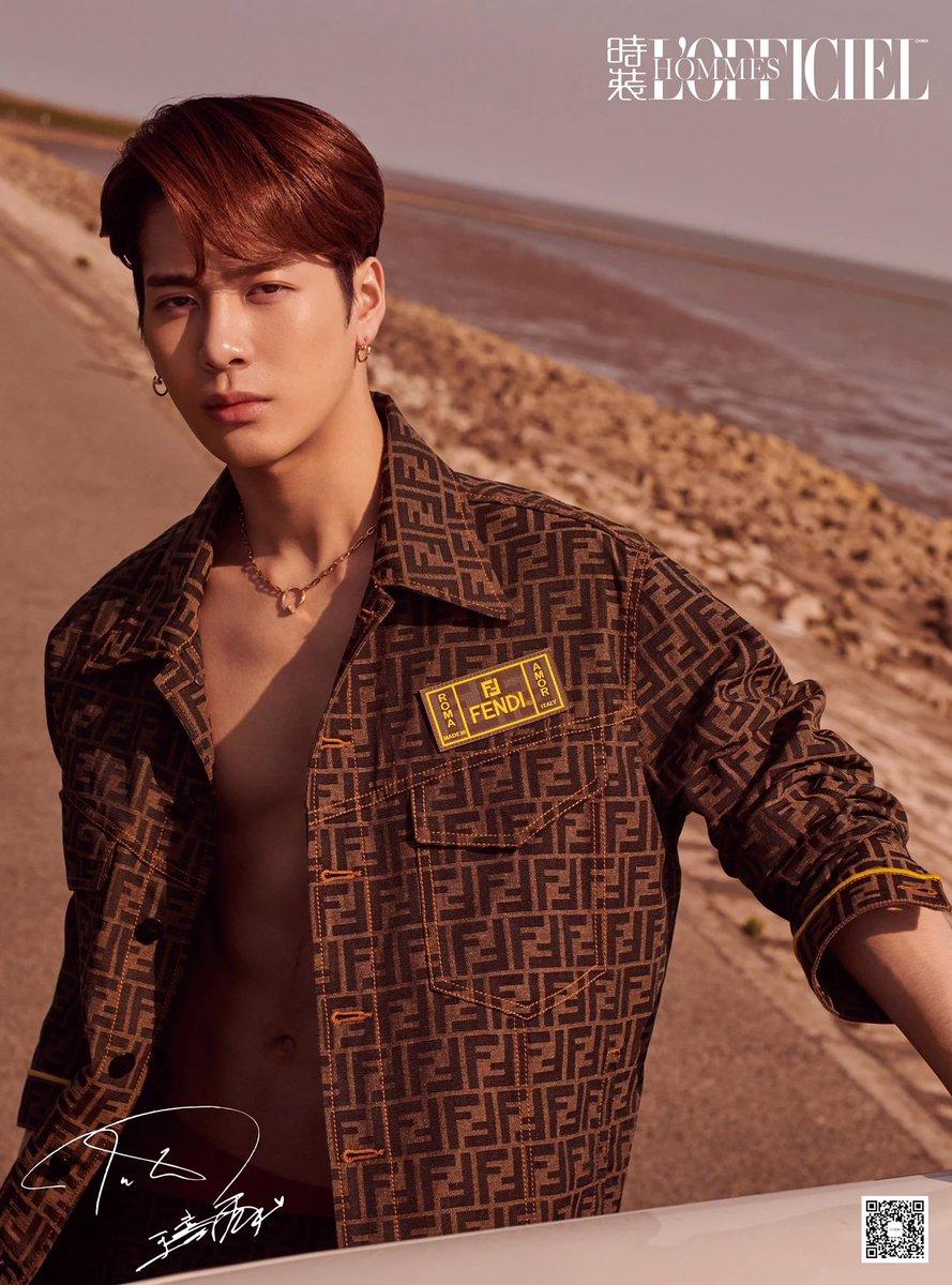 The Seoul Story On Twitter Got7 S Jackson Wang Graces The Cover Of L Officiel Hommes June Issue Modeling Fendi Got7official Jacksonwang852 Https T Co Lz4b0gghbg