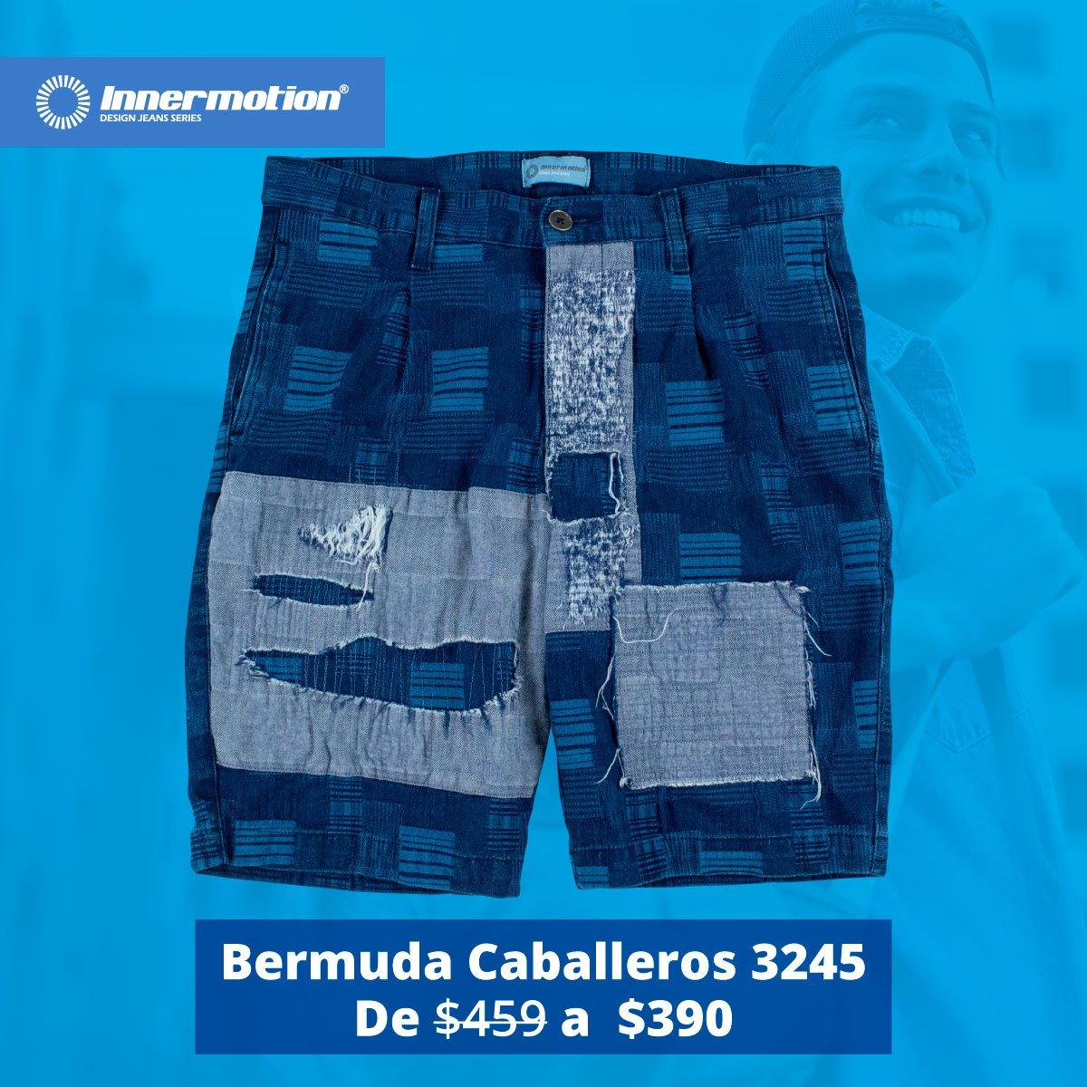 bfc36bc01f ... con nuestra Bermuda Innermotion para Caballeros