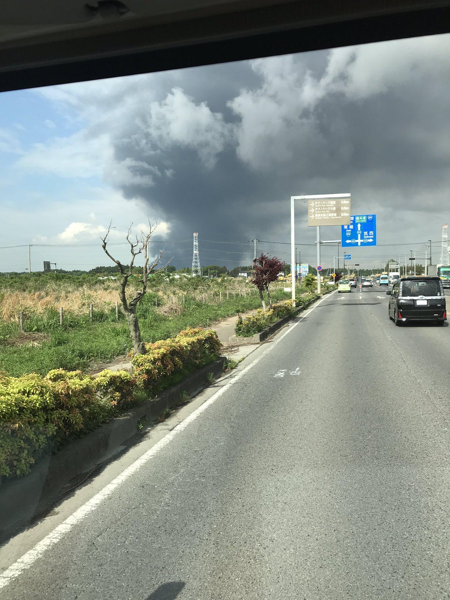 画像,火事だね!#茨城#火事 https://t.co/U4qXfzMpdC。
