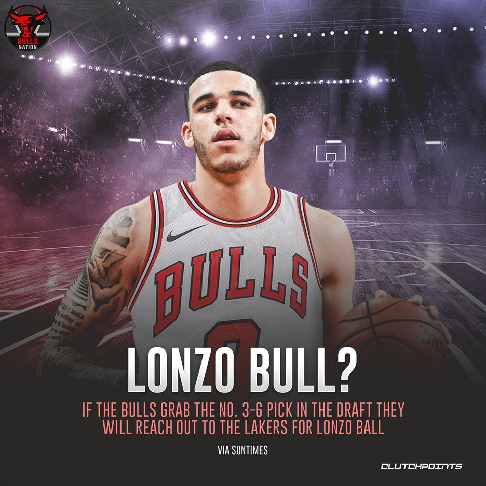 Bulls Nation's photo on Lonzo