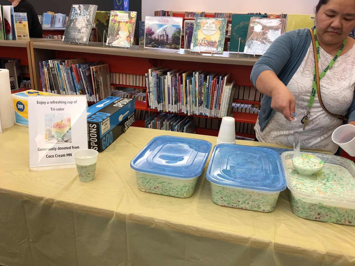 Thank you Coco Cream MN for donating treats at our Hmong storytelling event!