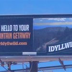 Image for the Tweet beginning: The Tour Idyllwild billboards are