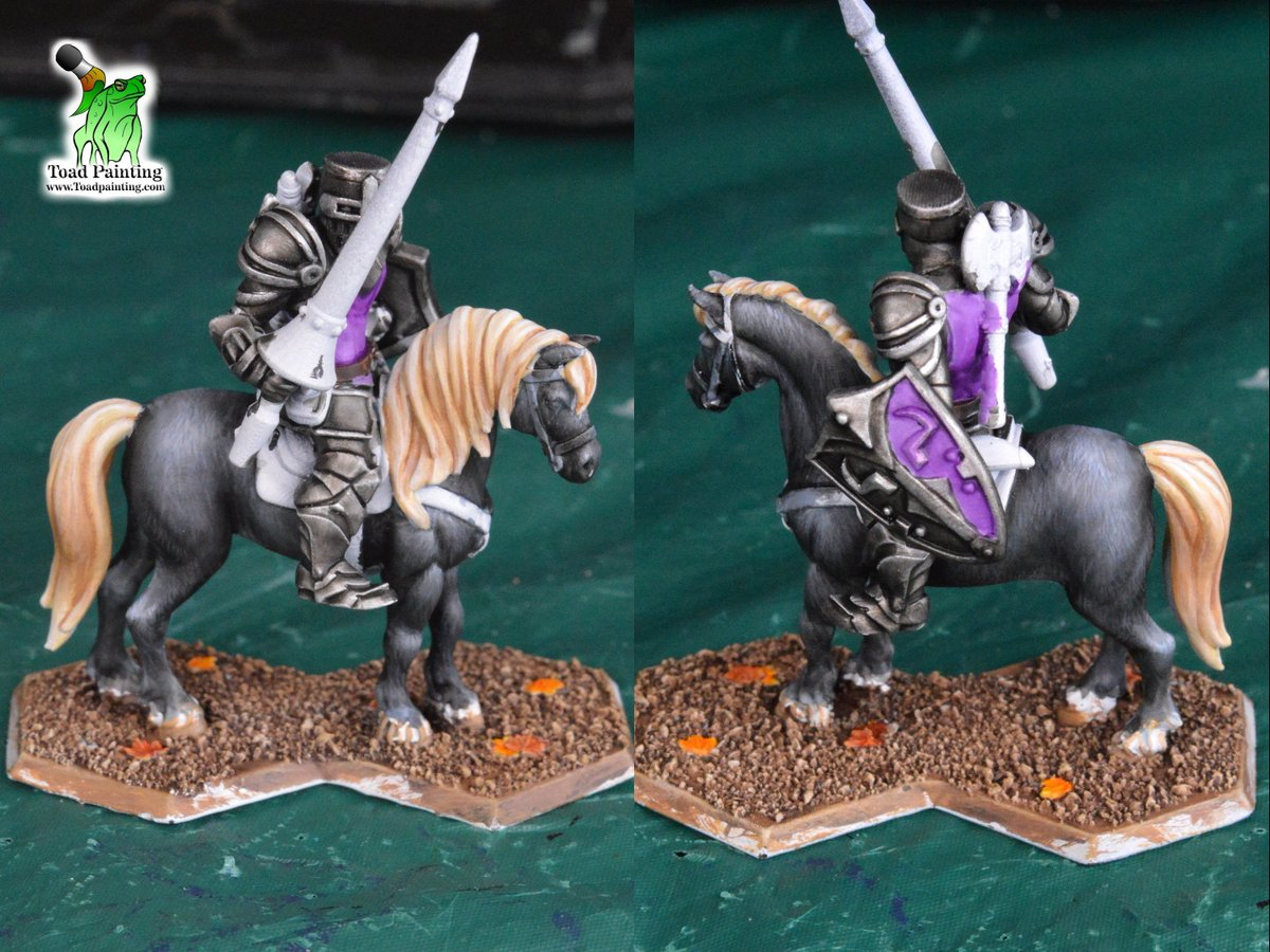 Results of today's stream, a whole bunch of fur! Was able to complete all the fur and hair on the horse in the 2 hours I streamed today. The model is from @HeroForgeMinis  Find me at http://twitch.tv/toadpainting  #WIP  #miniatures #minipainting  #dungeonsanddragons #DnD5e #heroforge