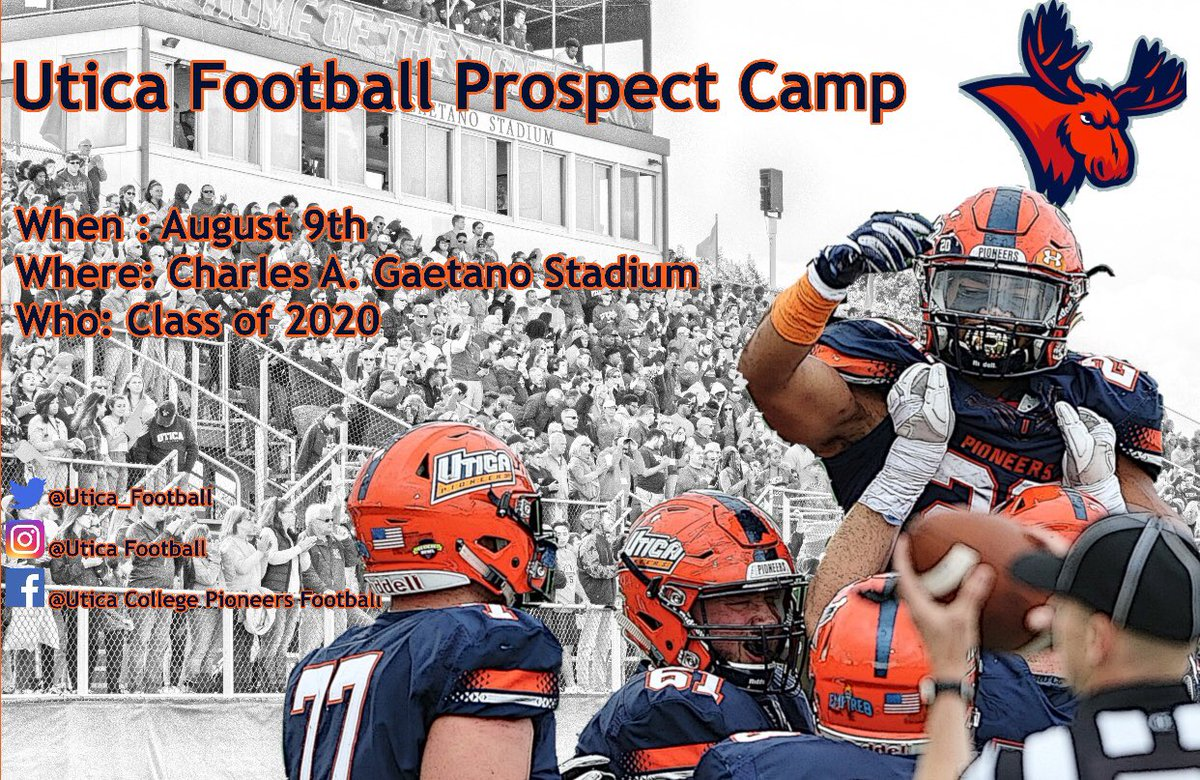 0ffe373aa24 Utica College Football Prospect Camp! Be there!  https   utica.hobsonsradius.com ssc eform B0868NGd704G0x67020zs.ssc …pic. twitter.com IIqMGMwQ4h
