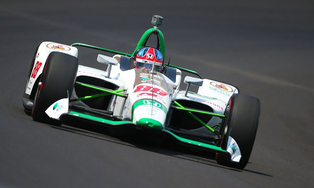 Fifth fastest overall and fastest of the 18 #Honda-powered drivers on the first day of #Indy500 practice, @ColtonHerta once again exceeded all expectations for an @IndyCar rookie. bit.ly/2YuAOnP