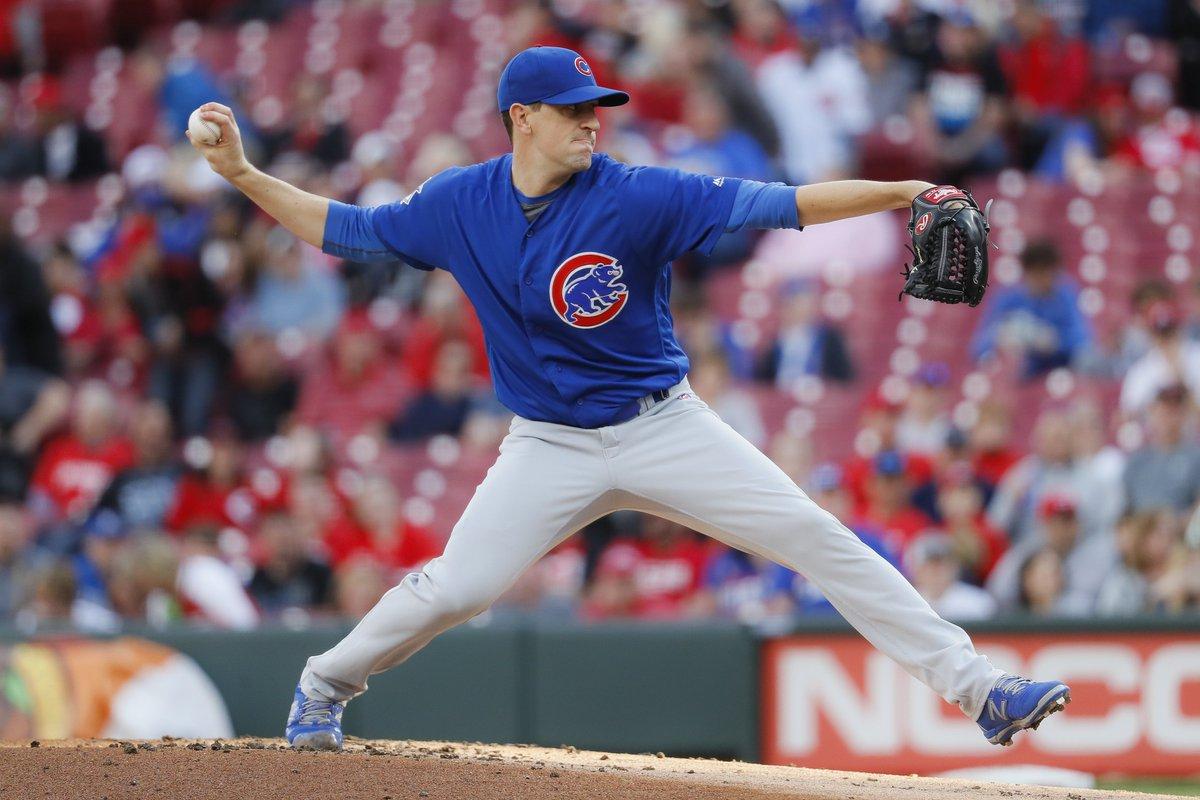 Chicago Sports's photo on Kyle Hendricks