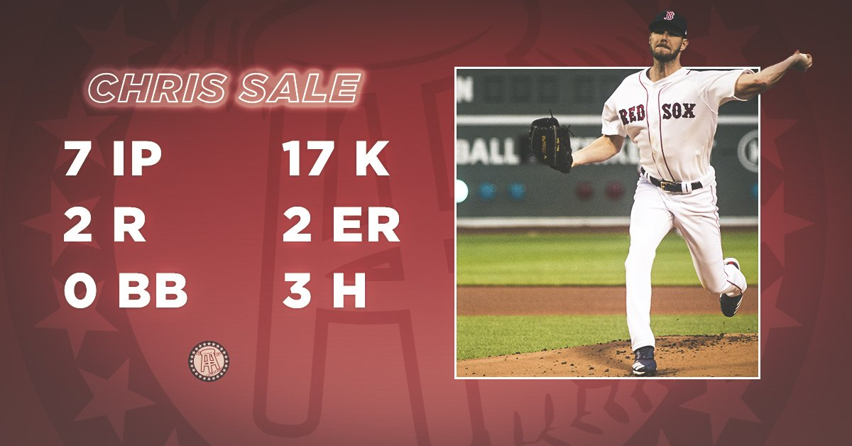 Starting 9's photo on Chris Sale