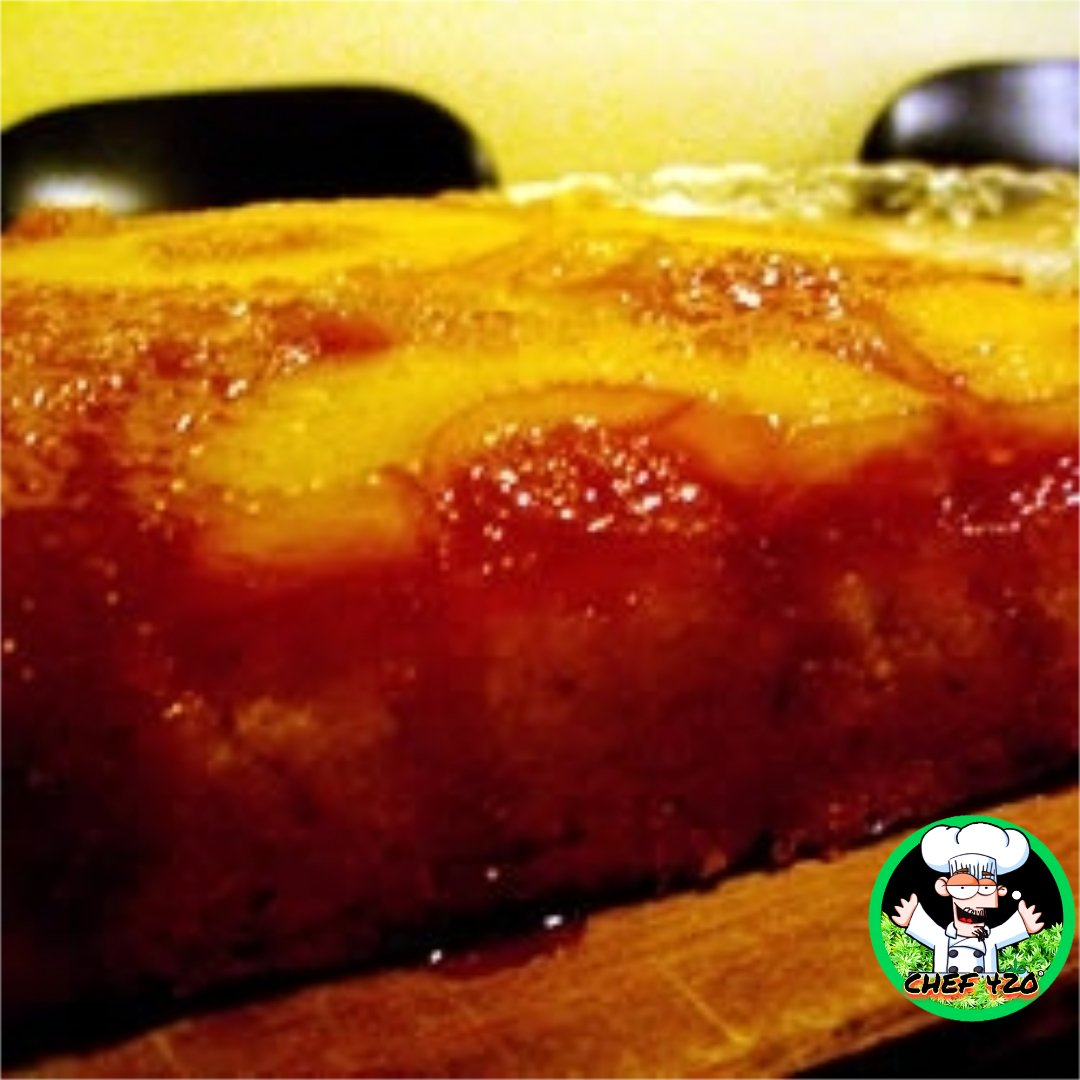 PineApple Upside-Down Cake By Chef 420 This cake is sooo sweeeet & sooo goood it will melt in your mouth. You won't want to share,, better make two!    https://bit.ly/2LwCUhU     #Chef420 #Edibles #CookingWithCannabis #CannabisChef #InfusedRecipes  #Happy420 #420Eve #420day