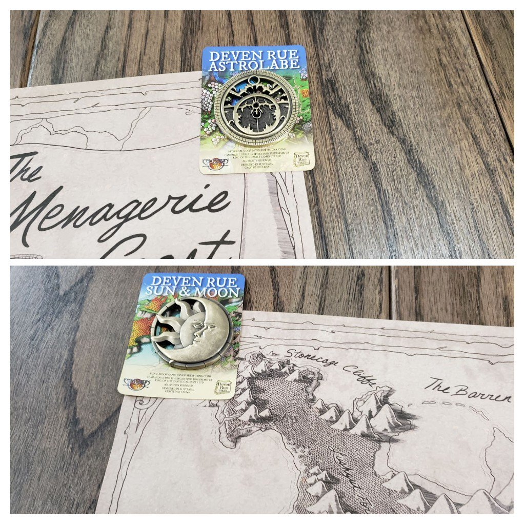 Ever heard of @TearableMonster?   To help them we're doing a giveaway!  1:Follow them 2:RT this tweet  For a chance to win an AUTOGRAPHED @DevenRue map of the #MenagerieCoast from @CriticalRole, the dice, & map weights!  Drawing: May 25th at 9PM CDT https://www.patreon.com/TearableMonsters… #dnd5e