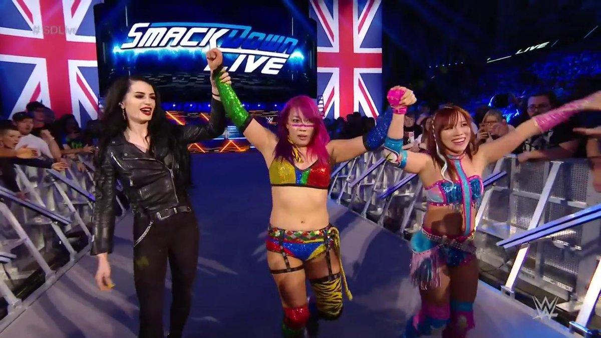 WWE Japan's photo on #SDLive