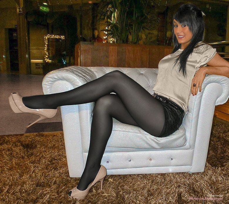 Can 24 pantyhose videos 25 stockings
