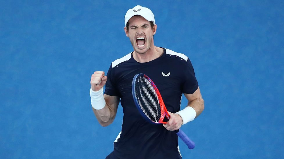 Hoping to see more of this 🔥 in future. Happy birthday, @andy_murray!