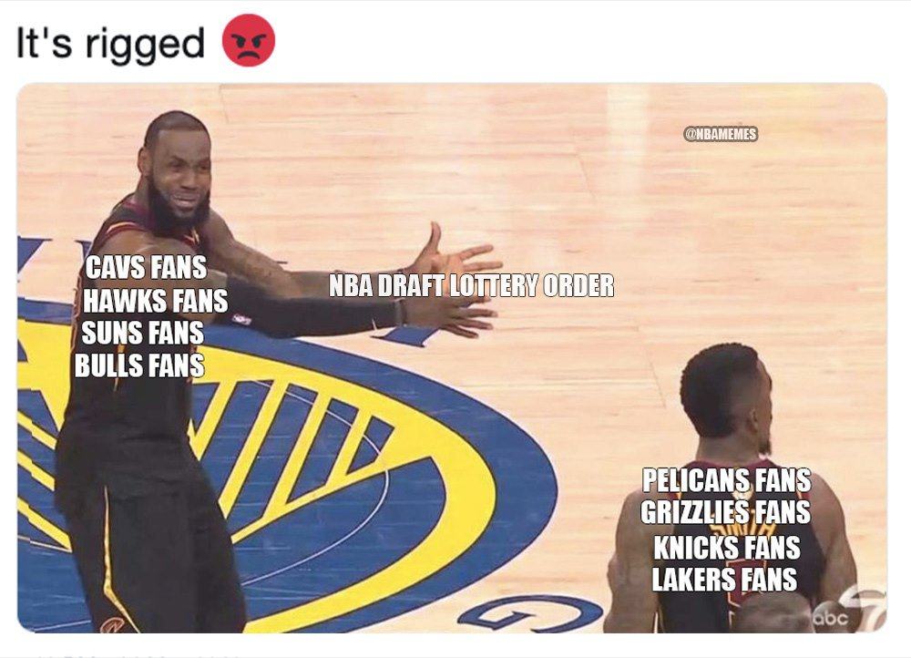 NBA Memes's photo on Rigged