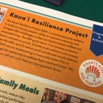 Image for the Tweet beginning: At the Kaua`i Resilience Project