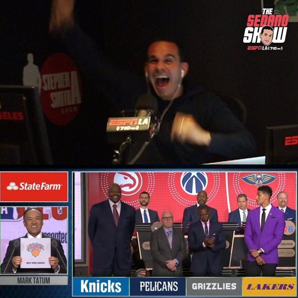 Los Angeles Informer's photo on NBA Draft