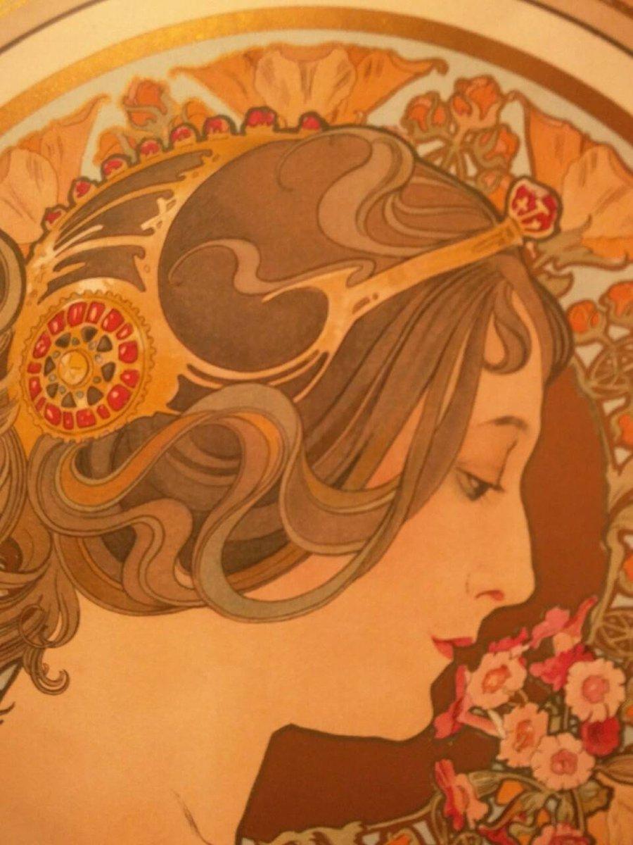 """Avatar detail"" Alphonse Maria Mucha (1860—1939)"