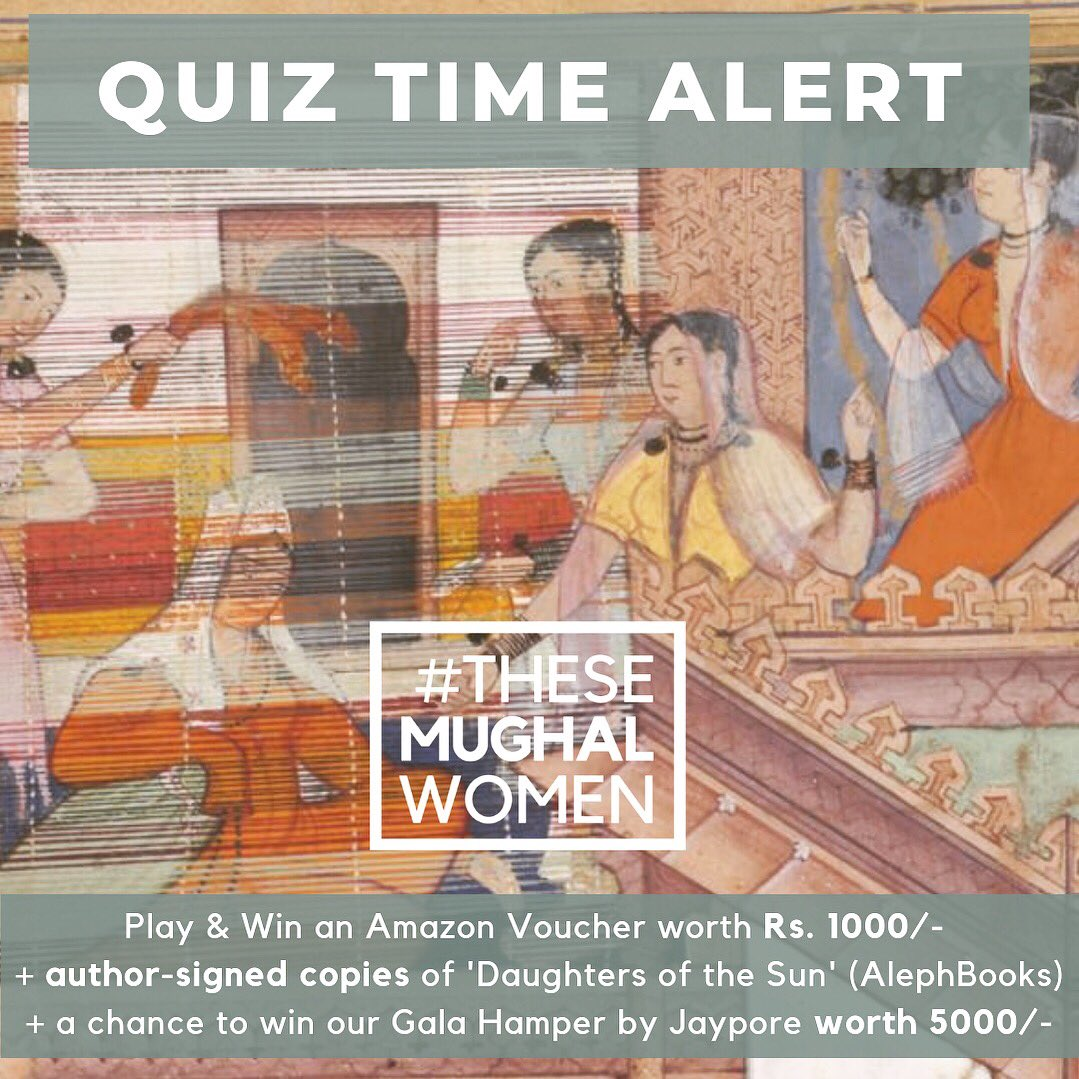 All day today, for #PlayMW we're hosting a Quiz on Instagram instagram.com/theheritagelab 🌟based on a talk by @mukhoty at NationalMuseum 👉🏽 share with your friends & see how many you can answer! With .@NMnewdelhi @.@jaypore & .@AlephBookCo #MuseumWeek 🏛