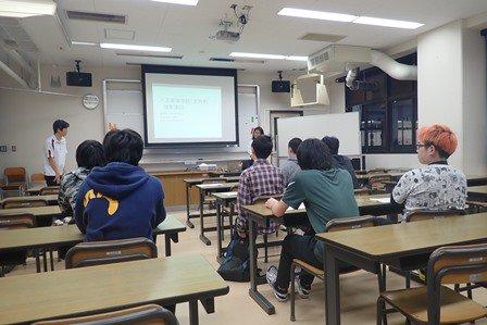 5月14日(火)に、定時制課程において職業講話を実施しました。飯田橋公共職業安定所から講師を招き昨年度の高校生の就職状況や、求められる人物像についてデータに基づいた講話を聴きました。生徒たちも将来のことを考えるきっかけになったようでした。