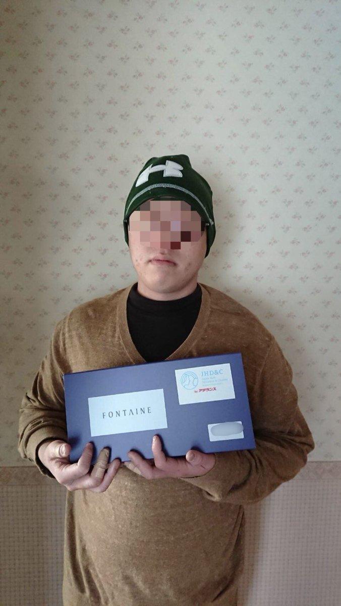 【ウィッグの提供報告・スタイルカット報告】昨年の11月3日、大阪府でメジャーメント(頭の採寸)を実施。今回も、ジャストフィットのオーダーメイド医療用ウィッグを、大阪府在住の19歳・男性(脱毛症)に無事にお届けすることができました?ご協力頂きました皆さまに、心より感謝申し上げます!