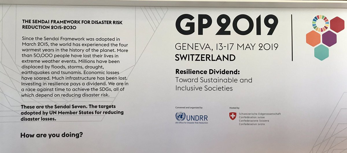 cf9244a2b60 Honoured that TAGS founder  malinimehra keynoting High-Level Dialogue at   UN Global Platform on  Disaster  Risk  Reduction  GP2019Geneva   DrowningPrevention ...