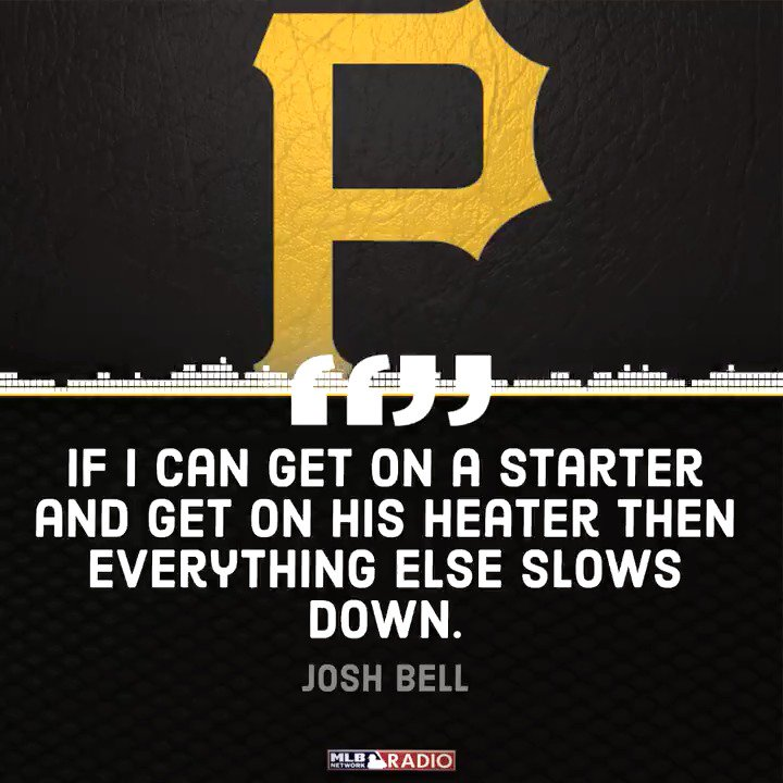 MLB Network Radio on SiriusXM's photo on Josh Bell