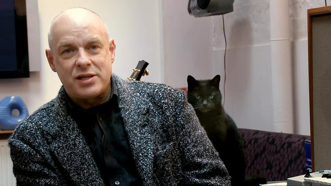 Happy 71st birthday to the brilliant Brian Eno