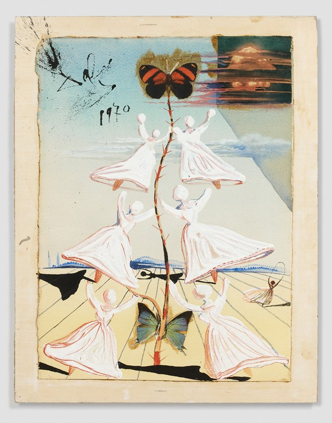 pretty nice 79aa1 16064 Original watercolours by Salvador Dalí for his annual (and surreal)  Christmas card designs predicted to make up to €1m at Paris auction house   Artcurial  ...