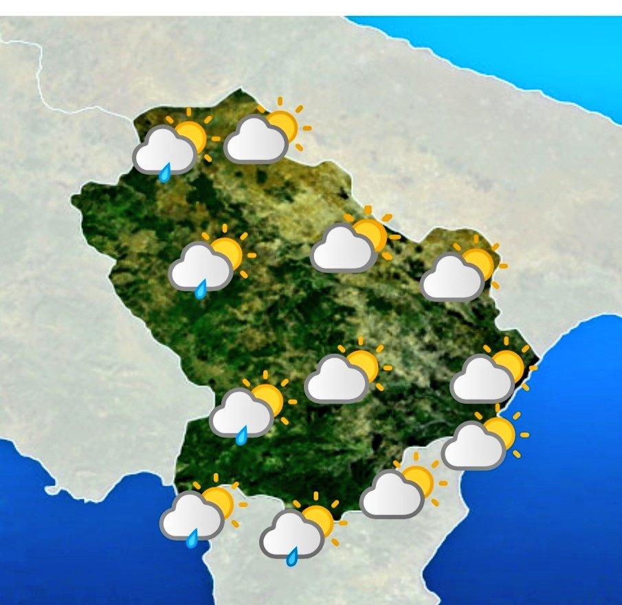 Le previsioni meteo #Basilicata di oggi 15 maggio ...