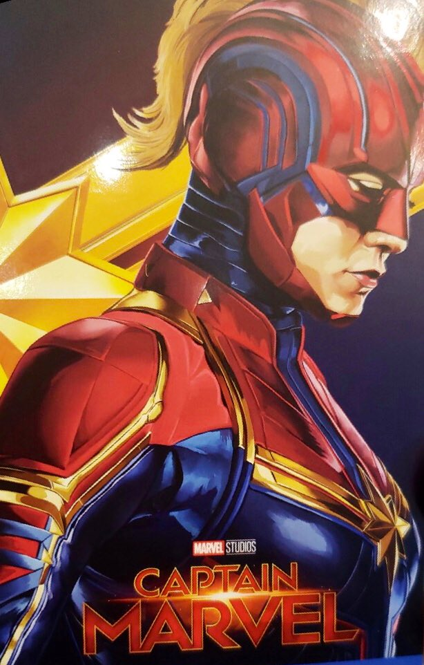 Captain Marvel News On Twitter I M Fine I Have No Problem With The Short Hair I Like Short Hair It Just Sort Of Feels Like Oh My God Her Hair Again