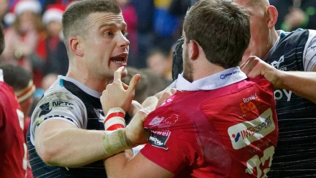 March: Ospreys & Scarlets to mergeMay: Ospreys v Scarlets for a place in the European Champions CupFrom merger candidates to bitter European rivals!More: https://bbc.in/2HpMzFj