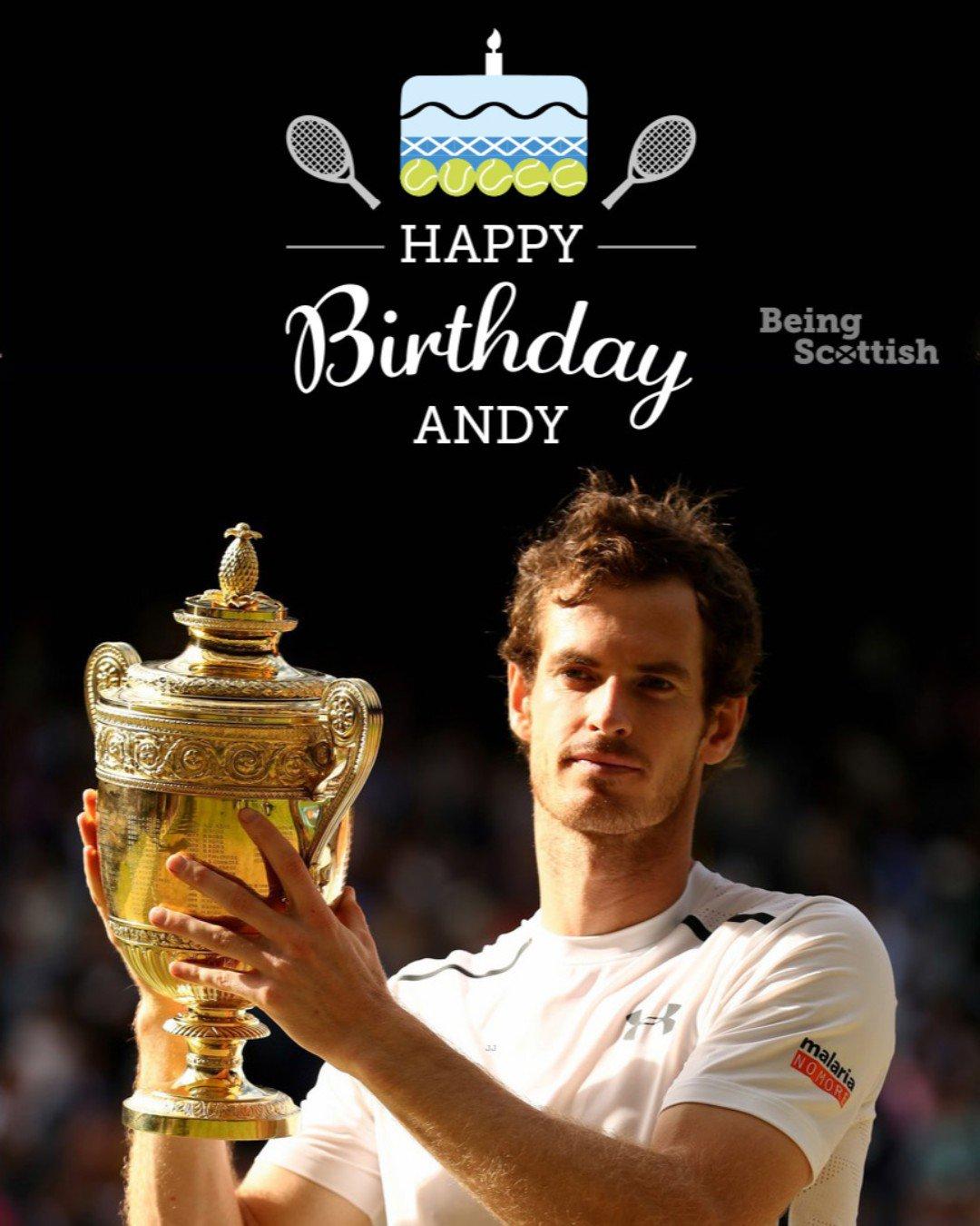 Happy birthday to Scotland\s tennis superstar