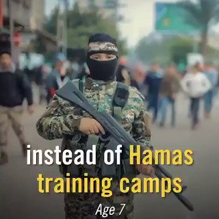 🔴 The children of #Gaza are being used by #Hamas for terrorist activities, instead of going to school, kindergarten. This is a crime against humanity. Let the world know! #Nakba71
