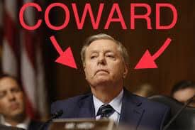 Lindsey Graham's a coward. Retweet if you agree. #LindseyGrahamObstructed <br>http://pic.twitter.com/edF8hrCxm7
