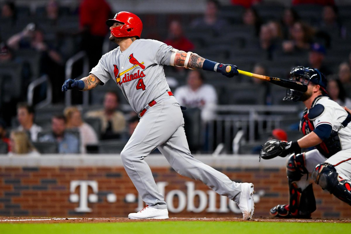 In the same night, Yadier Molina became the 13th Cardinal with 150 home runs and tied Rogers Hornsby for 5th on the #STLCards all-time list with his 367th double!
