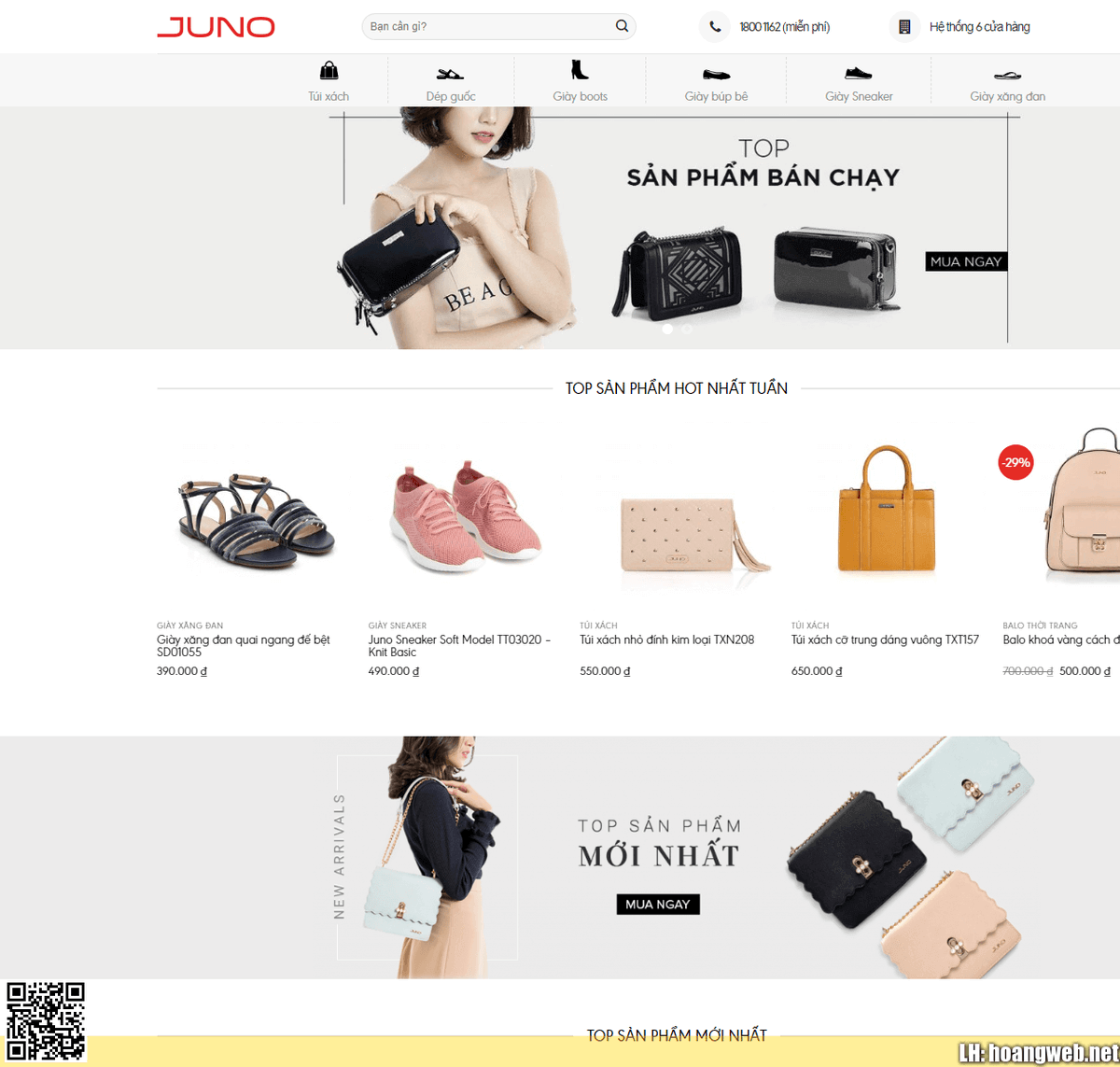 Mẫu web bán đồ thời trang thumbnail