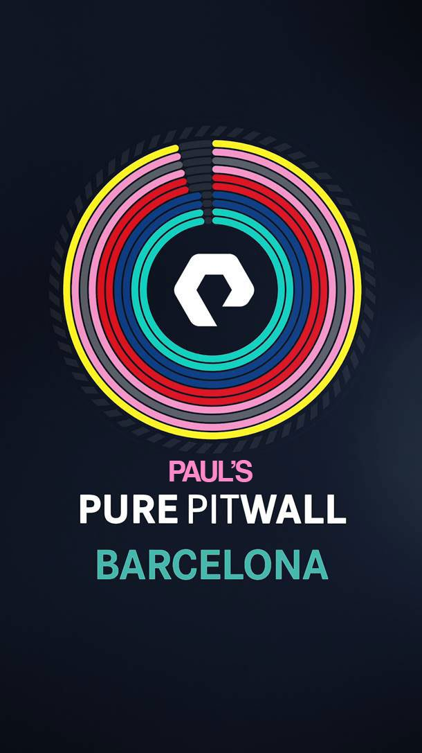 It's the #SpanishGP @purepitwall debrief, but with a twist! 📲😅 Paul talks starts, strategy, charging, curry and the Champions League with Shov and Ron straight from the pit wall in Barcelona... 👇