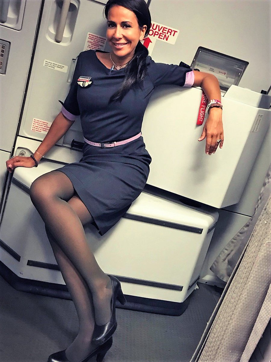 Are all swinging sexy stewardesses your place