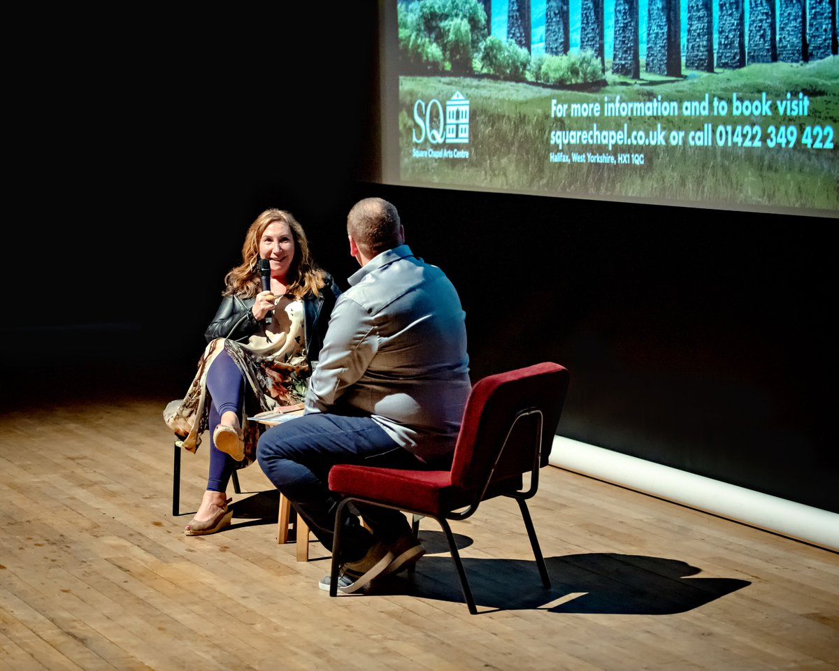 We want to say a big thank you to everyone who came to see In Conversation With #KayMellor at @squarechapel on Monday night. We hope you enjoyed it, we certainly did!   Photo cred 📸 Ant Robling (Twitter: @RoblingPix Facebook: @Roblingphotography)