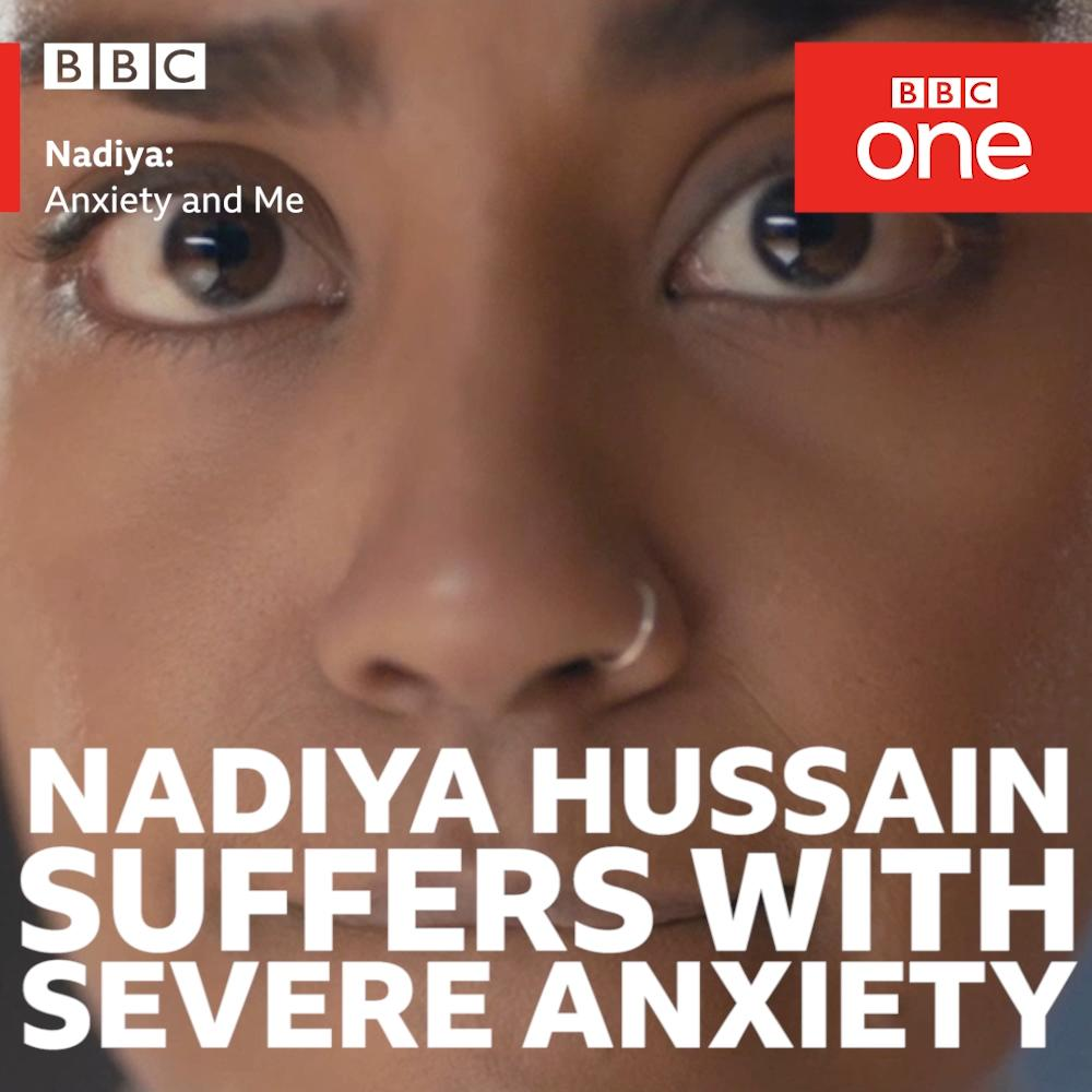 Great British Bake Off winner @BegumNadiya has suffered with anxiety ever since being severely bullied at school.   #NadiyaAnxietyAndMe | BBC One | Tonight 9pm | BBC One