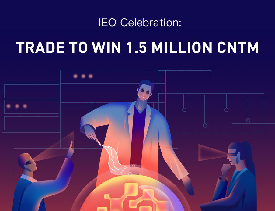 CNTM is now listed on ABCC Exchange! To celebrate this listing, we are hosting a 1.5 Million CNTM trading competition @Connectome_to   Trade now: https://abcc.com/en/pro/markets/cntmusdt…  For full announcement: https://help.abcc.com/hc/en-us/articles/360028017672-IEO-Celebration-Trade-To-Win-1-5-Million-CNTM…