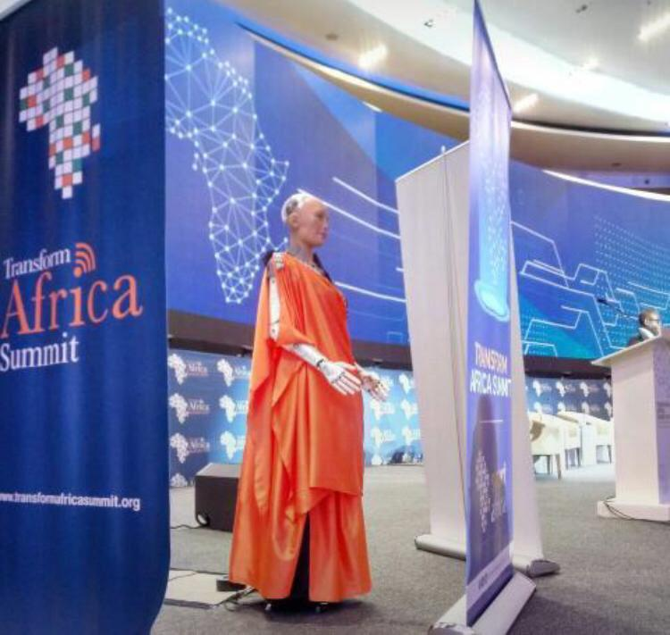 You are most welcome @RealSophiaRobot  She is here in #UMUSHANANA, attending #TAS2019 she is in the house at #KCC #Kigali