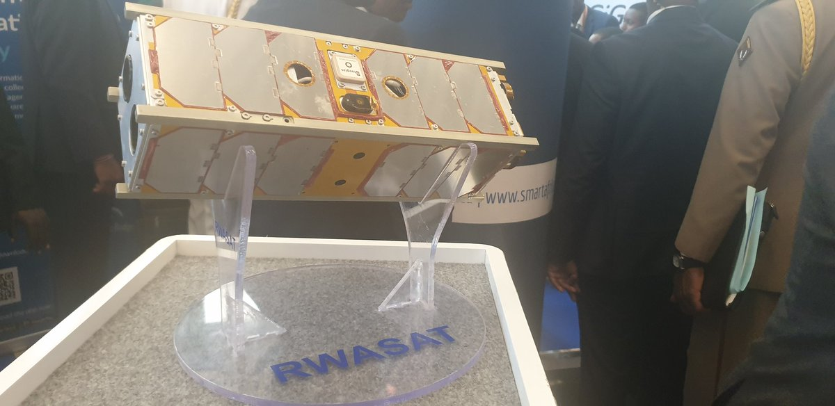 Coming soon...to an orbit near you...first #Rwanda-n built satellite #RWASAT-1 in partnership with University of Tokyo.