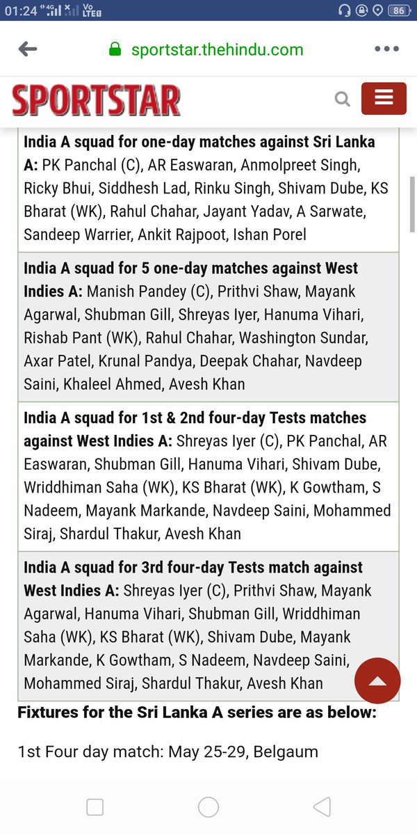 I'm hurt to know that there is no @faizfazal bhai ,Akshay Wadkar in any of the squad. P.S #Vidarbha won back to back #Ranji #Irani trophy. Is there anything remained to prove? #injustice @BCCI @sachin_rt @SGanguly99 @bhogleharsha @BCCIdomestic @VVSLaxman281 @RanjitVDeshmukh