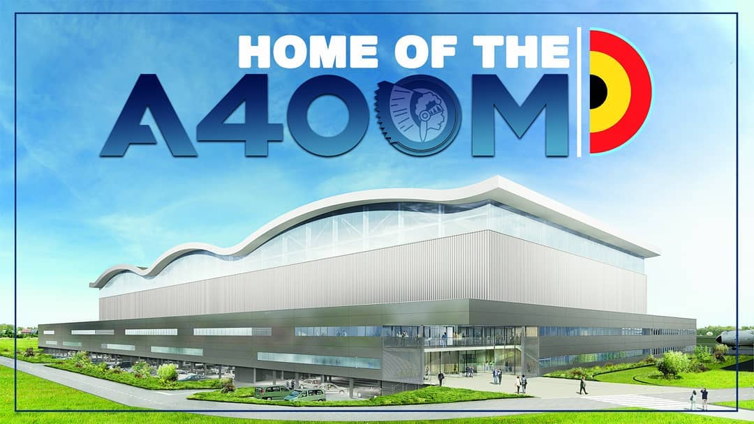 It is with great pleasure that we present our new #Airbus #A400M hangar. This project secures the @BeAirForce transport capability on #Melsbroek Airbase. Building preparations will start soon and when completed the hangar will be able to house 3 aircraft ✈✈✈#thefutureisours