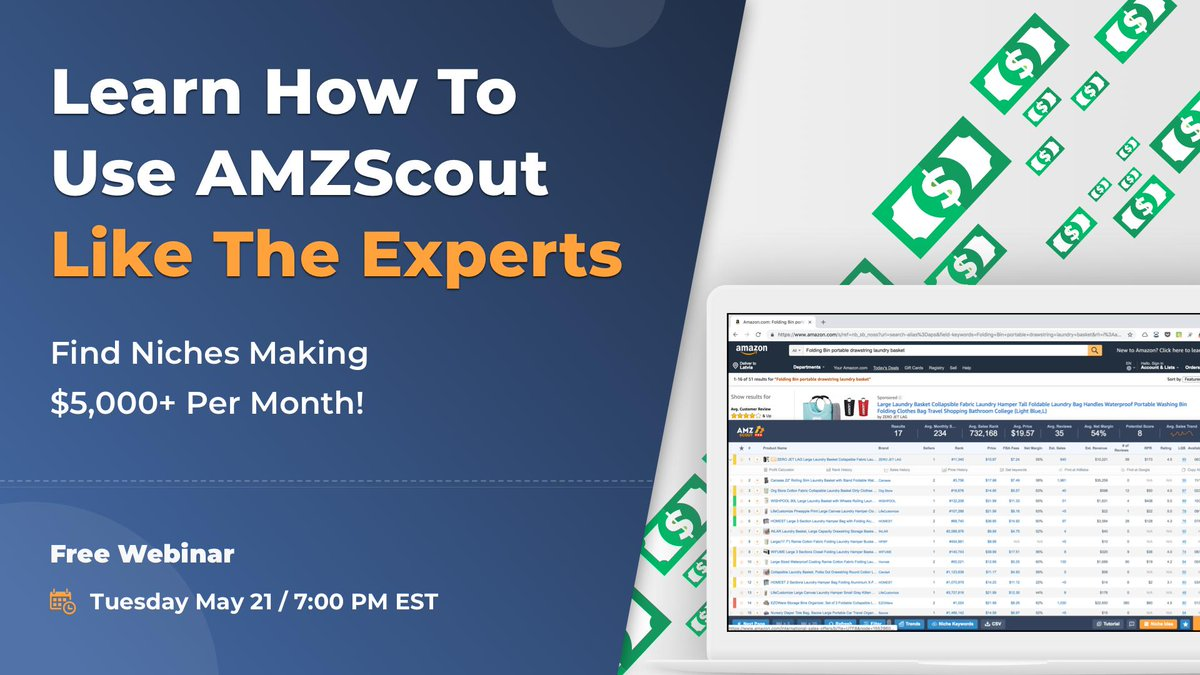 how to use amzscout