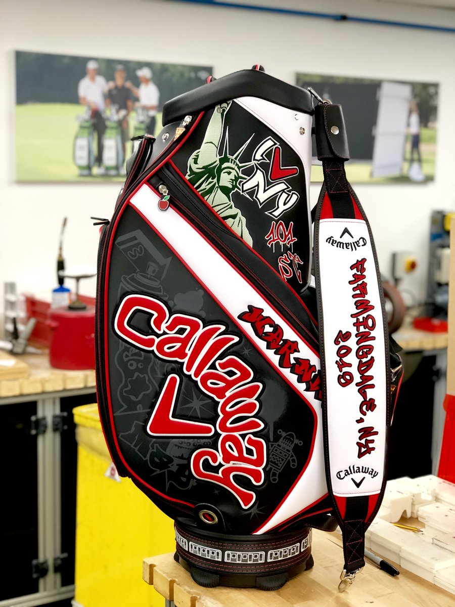 🚨COMEPTITION ALERT🚨  Simply RETWEET this tweet & FOLLOW @CallawayGolfEU to WIN our very Special Edition May Major Staff Bag, as used by #TeamCallaway this week at Bethpage Black 🍎🍕🗽  Good luck!