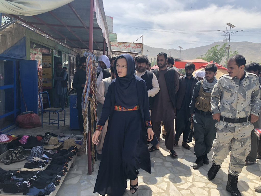 Afghan Town's First Female Mayor Awaits Her Assassination