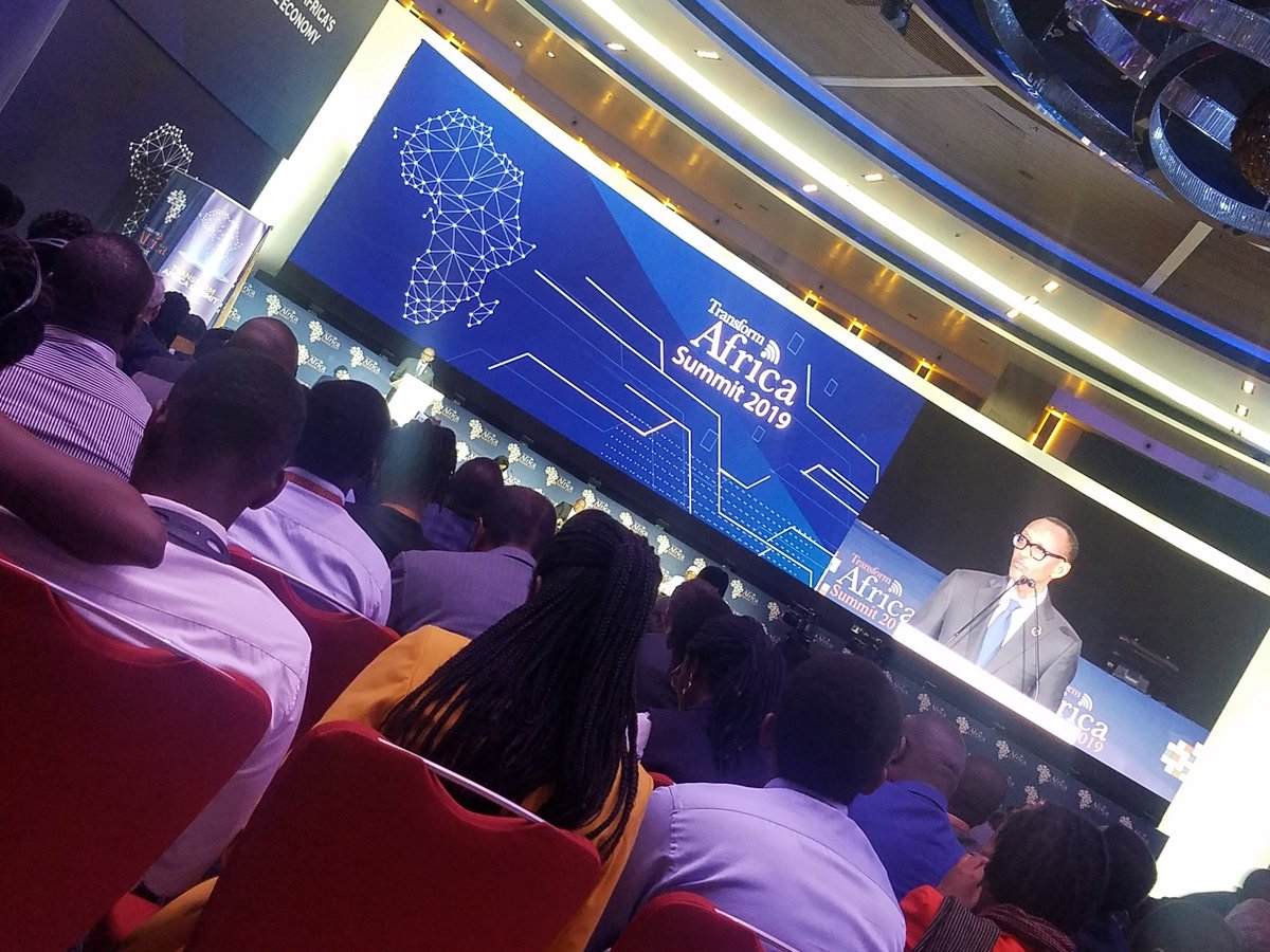 #Kagame We africans are innovators ,thinkers and inventors we should not use broadband intent in consuming from other countries. #TAS2019