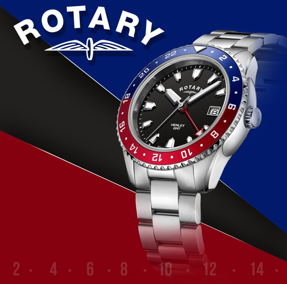 Giveaway Time!   We are giving you the chance to win this fantastic Pepsi dial Henley GMT Rotary watch worth over £200!  Simply follow our page and tag a friend to enter! Enter on Facebook and Instagram for more chances to win too!  #WinItWednesday #CompetitionTime #Giveaway<br>http://pic.twitter.com/IPVbb5IAFl